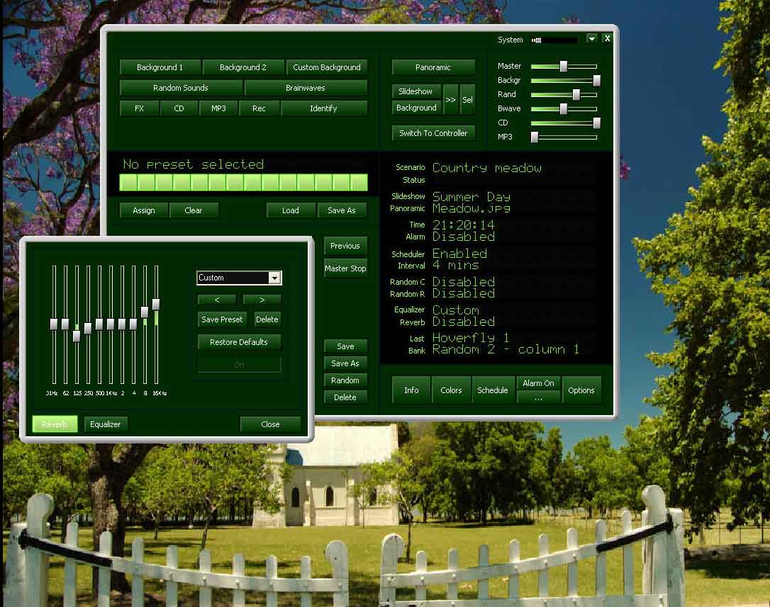 Atmosphere Deluxe: Nature Sounds Effects Generator software